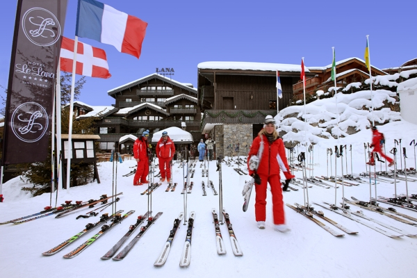 Le Lana (luxury travel, unique travel experiences, ski, courchevel,France, luxe travel, 法國, 谷雪維爾,滑雪, 旅遊, 品味遊 , 度身訂造, 私人定制 ,高端旅游)