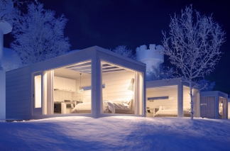 The Seaside Glass Villas - Kemi, Finland