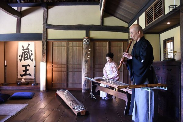 Experience Traditional Japanese Instrument | LUXE TRAVEL