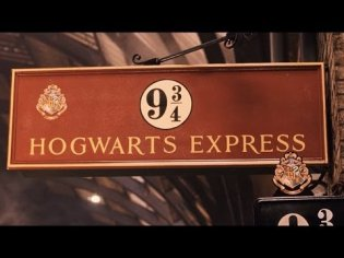 Muggles! Follow Harry Porter and ride The Hogwarts Express!!!