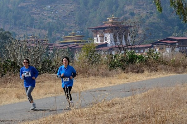 Run & enjoy breathtakingly beautiful scenery at Bhutan International Marathon!