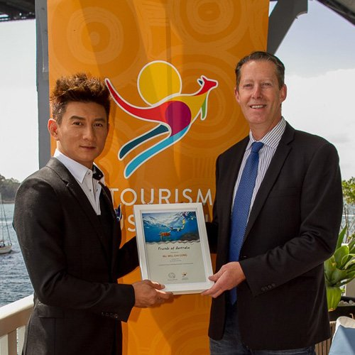 Tourism Australia's collaboration with Nicky Wu