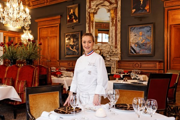 Woman Master Chef in France | Virginie Basselot | LUXE TRAVEL