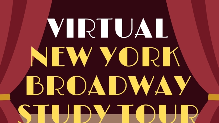 Luxe Travel presents - Exclusive Virtual New York Broadway Study Tour 3 Days